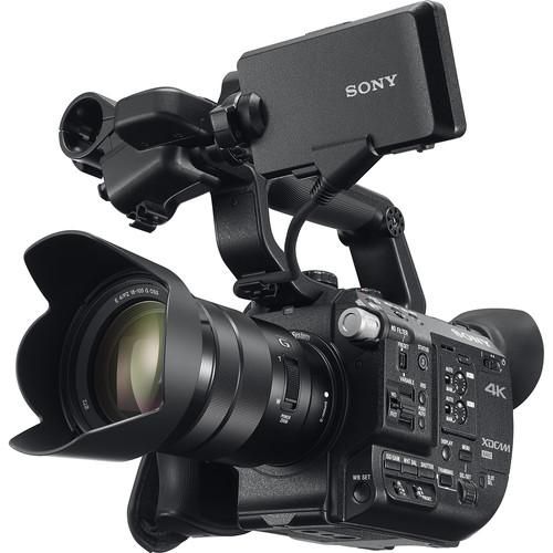 Sony FS5 Bottom View